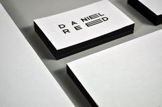 Daniel Reed Identity by Daniel Reed, via Behance