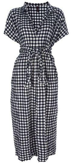 Daniela Gregis Black Midi Dress