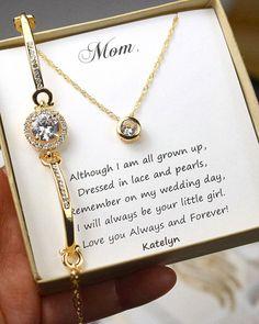 Pulsera madre de la novia regalo personalizado por thefabbridal3