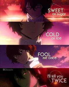 don't mess with someone who says that everythi. - , Anime Memes - My Manga Sad Anime Quotes, Manga Quotes, Stray Dogs Anime, Bongou Stray Dogs, True Quotes, Funny Quotes, Funny Memes, Funny Dogs, Dog Memes