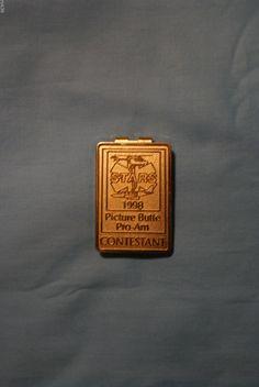STARS Picture Butte Pro-Am Contestant Badge / Money Clip  #GolfDesign Money Clips, Star Pictures, Badge, Stars, Ebay, Souvenir, Sterne, Badges, Money Clip