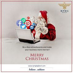 Connect with us to get in touch with the #socialmediasanta who will help you grow your business all the Christmas!  #rpmgdigitech #socialmediamarketing #digitalmediamarketing