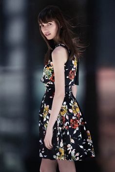 cue fall 2014 campaign6 Gabby Dover, Seon Hwang + Maddison Brown Front Cue Winter 2014 Campaign