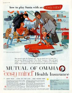 The 8th Day of Christmas Mutual of Omaha Ad