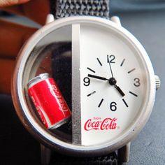 Coca-Cola 3D Can Quartz Watch