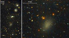 """Descubren la """"galaxia oscura"""""""