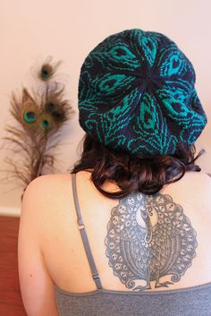 Ravelry: Peacock Tam pattern by Celeste Young