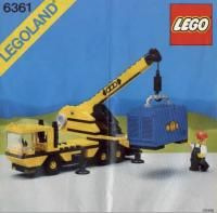View LEGO instructions for Mobil Crane set number 6361 to help you build these LEGO sets