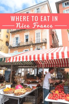 Where to eat in Nice, France? Here are our favourite picks!