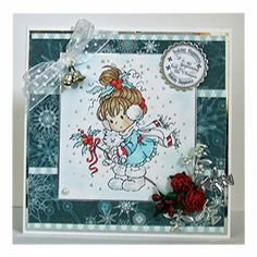 The Hobby House : Inspiration from one of our Challenge Entrants Beautiful Christmas Cards, All Things Christmas, Fall Cards, Xmas Cards, Hobby House, Whimsy Stamps, Card Sketches, Copics, Card Tags