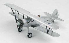 Hobbymaster 1:48 Boeing Stearman Diecast Model Airplane HA8105 This Boeing Stearman PT-17 4X-ACH/31 Diecast Model Airplane features working propeller. It is made by Hobbymaster and is 1:48 scale (approx. 20cm / 7.9in wingspan).    General Background The Stearman Aircraft Company produced a bi-plane trainer-aircraft called the Model 70. In 1935 the USN ordered the Model 70 with a Wright J-5 Whirlwind engine designated the NS-1. Boeing Aircraft Company bought Stearman and gave the Model 70 a…