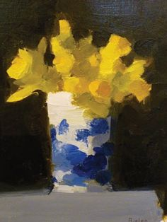 artnet Galleries: Trumpet Daffodils by Stanley Bielen from Somerville Manning Gallery