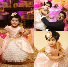 @kritpalak. Call or whatsapp 8288944518 to order this beautiful Little gown Customizations available.  #kidsCouture #littleGirlsDresses #kidsWear #ToddlerDresses #ChildrenClothes #kidsFrock #kritpalakMinis #kidsWear