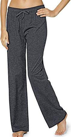 Champion Authentic Women's Jersey Pants_Granite Heather_XX-Large