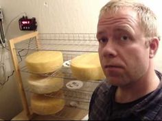 freaky cheap walk in fridge - cheese cave built with an air conditioner for $300. - YouTube