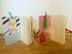 Moleskine Notebooks transformed! Custom cover and bookmark! Perfect for your to-do lists or moments of inspiration!