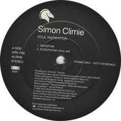 """For Sale - Climie Fisher Soul Inspiration UK Promo  12"""" vinyl single (12 inch record / Maxi-single) - See this and 250,000 other rare & vintage vinyl records, singles, LPs & CDs at http://eil.com"""