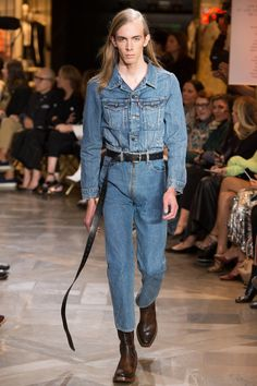 Catwalk photos and all the looks from Vetements Spring/Summer 2017 Ready-To-Wear Paris Fashion Week