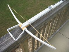 pvc projects | PVC Medieval Crossbow [1] by ~cowscankill on deviantART