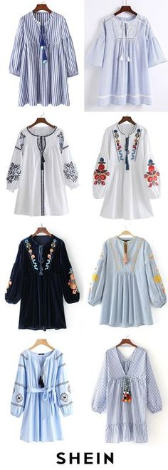 58 ideas sewing simple dresses sleeve for 2019 Stylish Dresses For Girls, Stylish Dress Designs, Simple Dresses, Trendy Outfits, Casual Dresses, Dresses With Sleeves, Sleeve Dresses, Tunic Dresses, Muslim Fashion