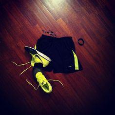 20' WU; 15 km tempo run; 30' CD #nike #nikerunning #running