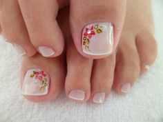 Resultado de imagen para uñas delos pies decoradas