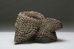 Ceramic sculpture by Phyllis Kudder Sullivan.