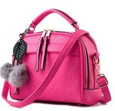 Vogue Star 2016 New Multi-Function Women Leather Handbag Casual Women Messenger Bag Luxury Women Shoulder Bag Female Tote LS351