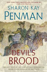 Penman is the BEST historical fiction writer!   Book 3 of the Henry II/Eleanor of Aquitaine triology.