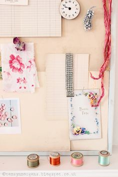 Rainy Day Crafts #1 - DIY Vintage Mood Board | The Villa on Mount Pleasant
