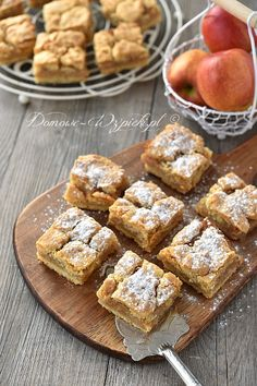 Prosta szarlotka Apple Pie Recipes, Cake Cookies, Food Photography, Dessert Recipes, Food And Drink, Yummy Food, Healthy Food, Sweets, Snacks