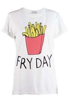 Fry Day Funny Cute Trendy French Fries Delicious Junk Food for Adult Unisex Sweater Crewneck Warm Crew-neck Women Clothing Men Clothing OAVO2hWCPp