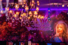 Festa tema Tomorrowland: plotagem Isabelle - Foto: Luiz Claudio Fotografia