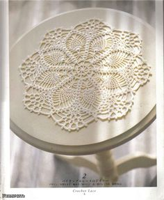 Use imgbox to upload, host and share all your images. It's simple, free and blazing fast! Crochet Doily Patterns, Lace Patterns, Crochet Motif, Crochet Doilies, Crochet Ideas, Crochet Books, Crochet Home, Lace Doilies, Filet Crochet
