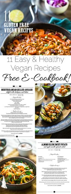 FREE 11 Plant Based, Gluten Free Vegan Recipes E-Cookbook - Click here to download this FREE E-cookbook now and get access to 11 delicious, healthy vegan recipes! | Foodfaithfitness.com | @FoodFaithFit