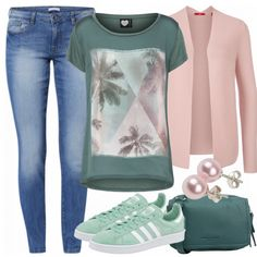 Freizeit Outfits: PinkPalmTree bei FrauenOutfits.de