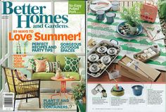 Bubi Water Bottles - Media Reviews & Coverage - Better Homes and Gardens Magazine