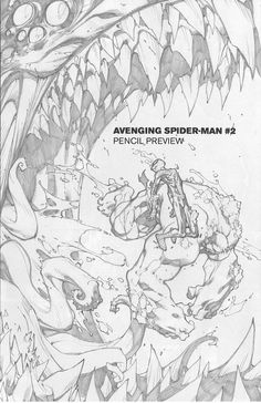 Joe Madureira ! Fansite: Avenging Spider-Man #2 Preview Pages