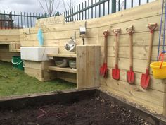 Mud kitchen by @Cool Canvas