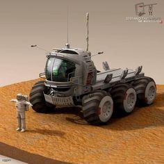 Lunar vehicles collection - 3d model - CGStudio