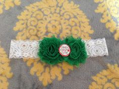 Christmas Headbands- Baby Bling - Simply Unique! Embellished with Swarovski rhinestsones. $18.99