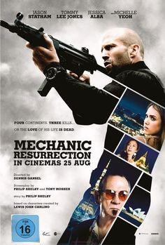 Watch Mechanic: Resurrection (2016) Full Movie Online Free