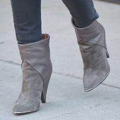 Jessica Alba Looks Polished in Stella McCartney Blazer and Iro Boots as She Leaves Petrossian Restaurant