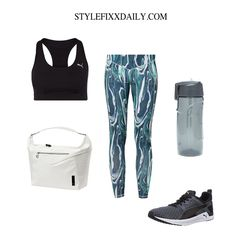 WORKOUT OUTFIT INSPIRATION: YAS FLOW