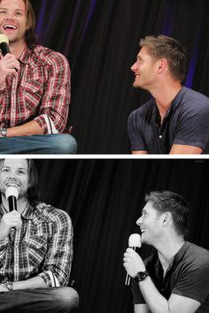 It seems like Jensen simply lives to watch his little brother smile...