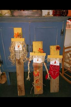 Simple and cute scarecrow idea!
