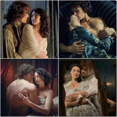Jamie and Claire Outlander Funny, Outlander Tv Series, Sam Heughan Outlander, Claire Fraser, Jamie And Claire, Jamie Fraser, Vision Book, Best Love Stories, The Avengers