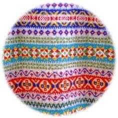 Fair Isle sweater in Grandad's pattern