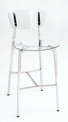 acrylic bar stools / kitchen