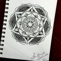 Mandala, lines.